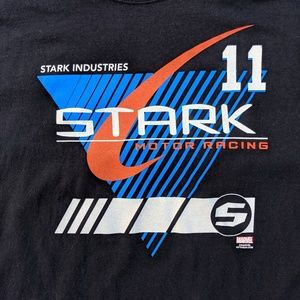 Stark Industries Motor Racing T-shirt Iron Man